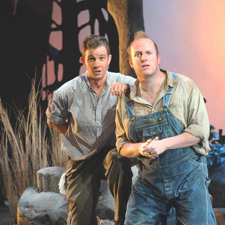 Music transforms familiar 'Of Mice and Men' story