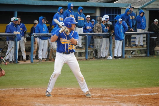 TCC's Ridge Abinsay is hitting .325 with 13 RBI. He looks to upgrade these stats with the onset of Panhandle Conference play.