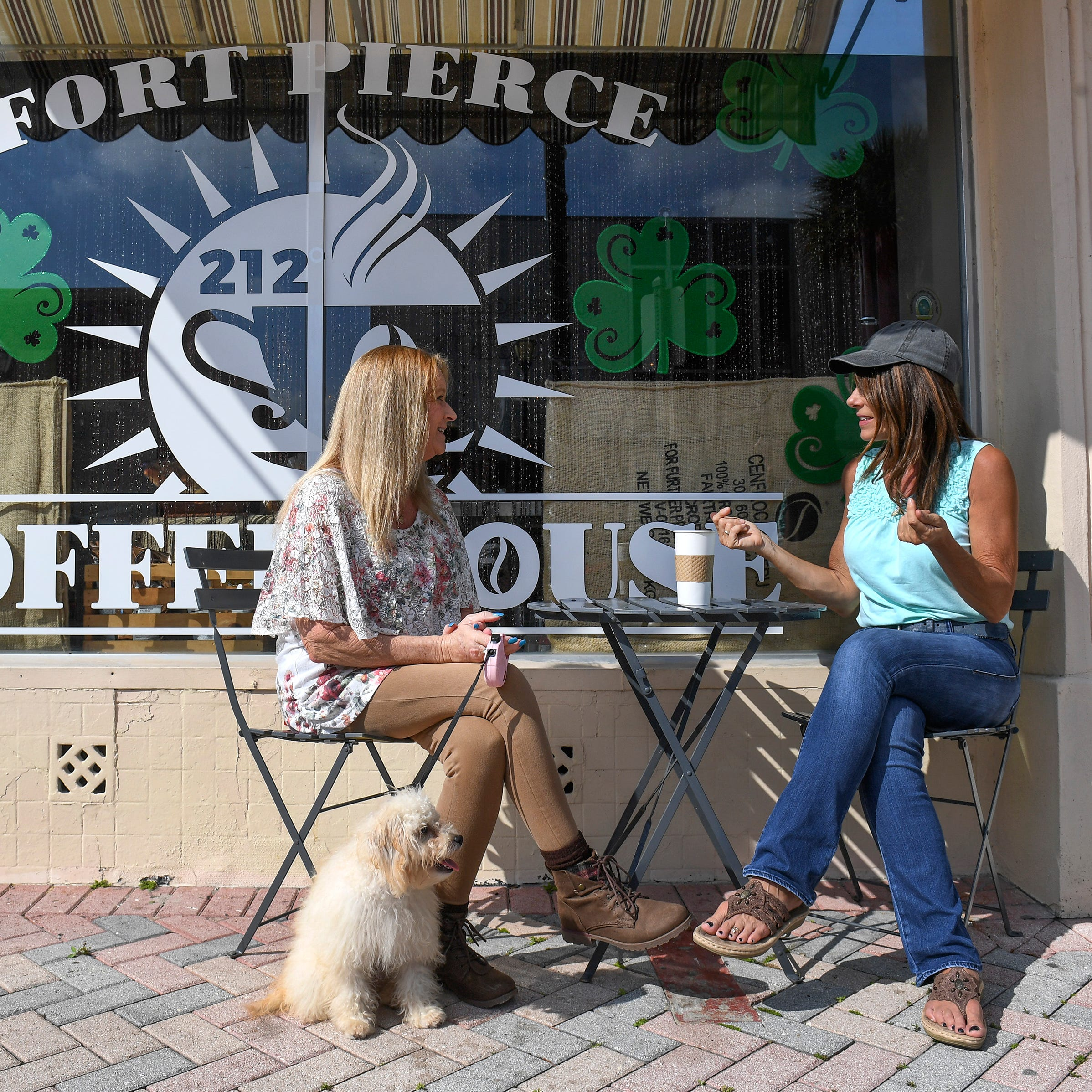 Cancer survivor and son open only coffeehouse in downtown Fort Pierce