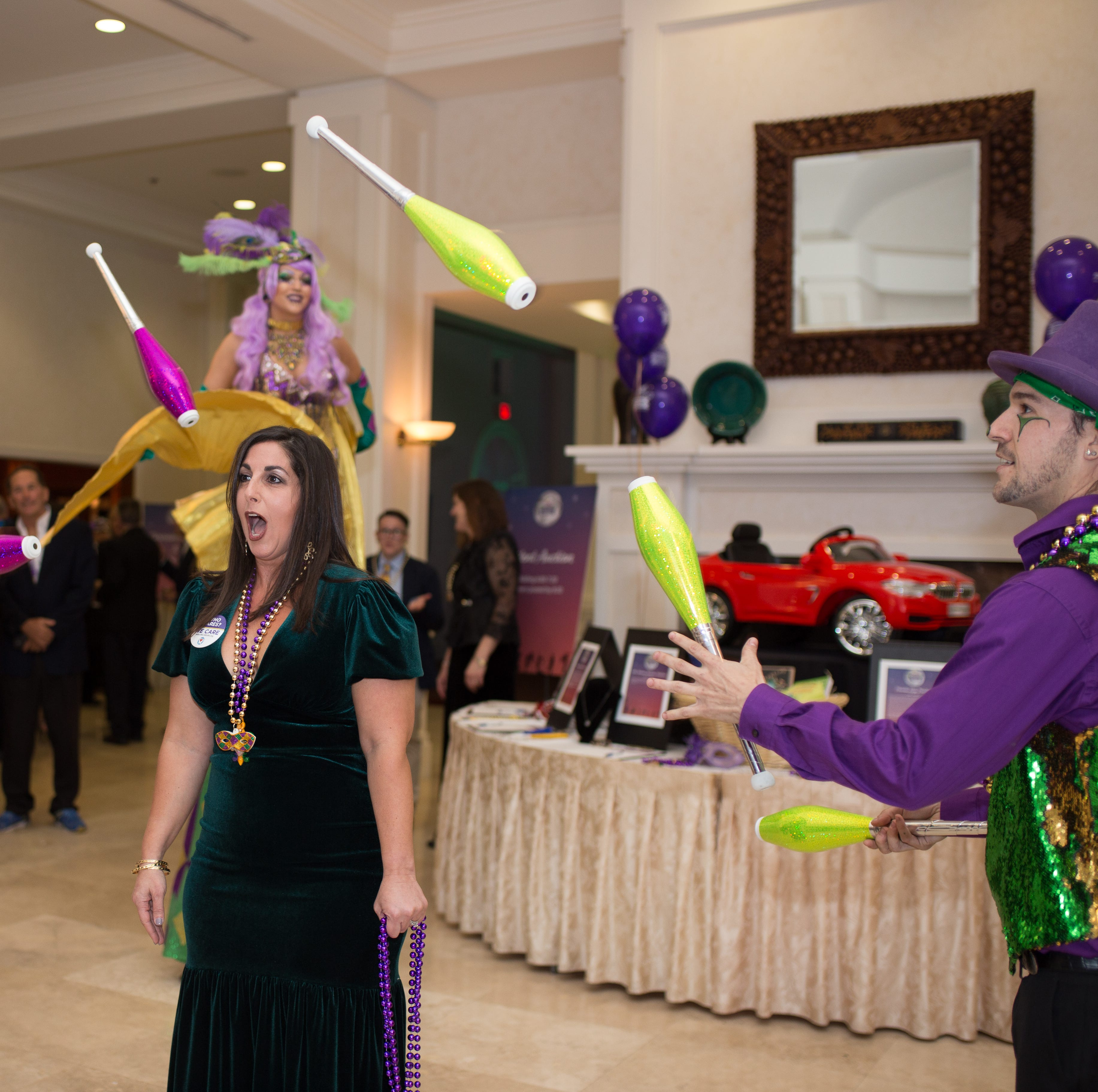 Bourbon Street comes alive at fifth annual Mardi Gras Celebration for We Care Foundation