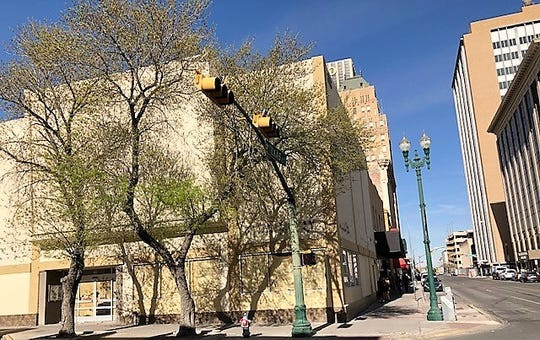 """The former Walgreens store building, at 200 N. Mesa St., in Downtown El Paso, was sold for $405,000 in a February court auction as part of the William """"Billy"""" Abraham bankruptcy cases."""