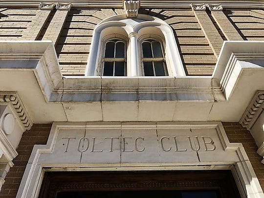 The Toltec Club Building, at 717 E. San Antonio Ave., in Downtown El Paso, housed the Toltec Club, a men's social club for El Paso's prominentbusiness, civic and political leaders in the early 1900s.