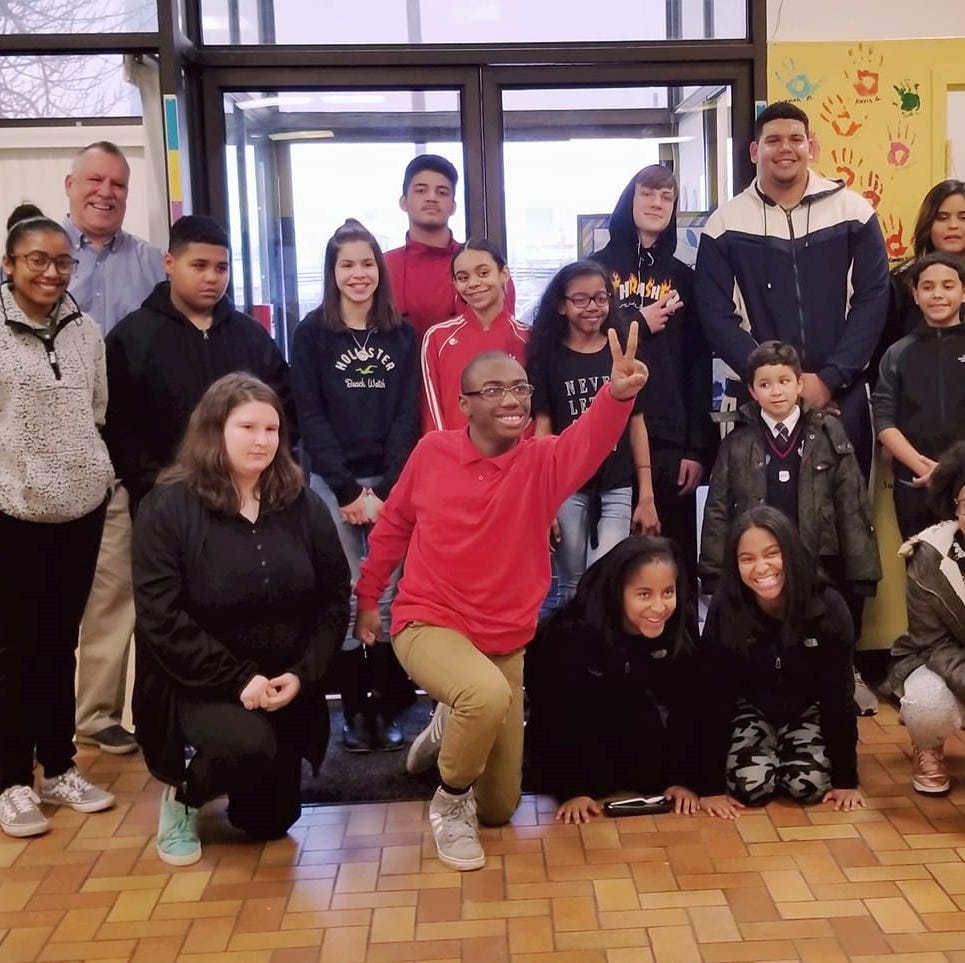 Demby visits Boys & Girls Club of Vineland