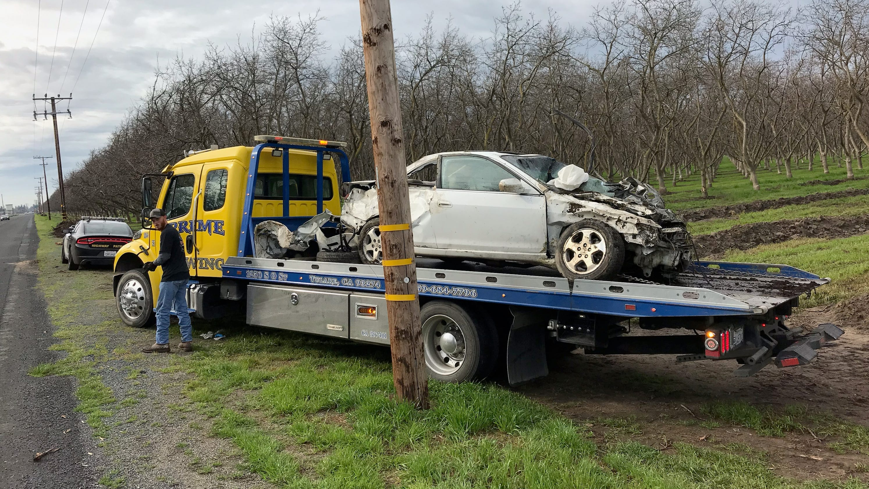 19-year-old Visalia woman dies in single-vehicle crash
