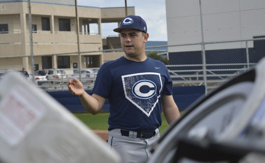 Shane Marshall is in his first season as the Central Valley Christian High School varsity head baseball coach.