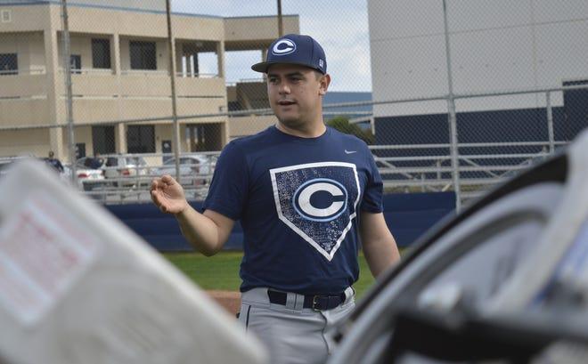 Shane Marshall is in his first season as the Central Valley Christian High School varsity head baseball coach.