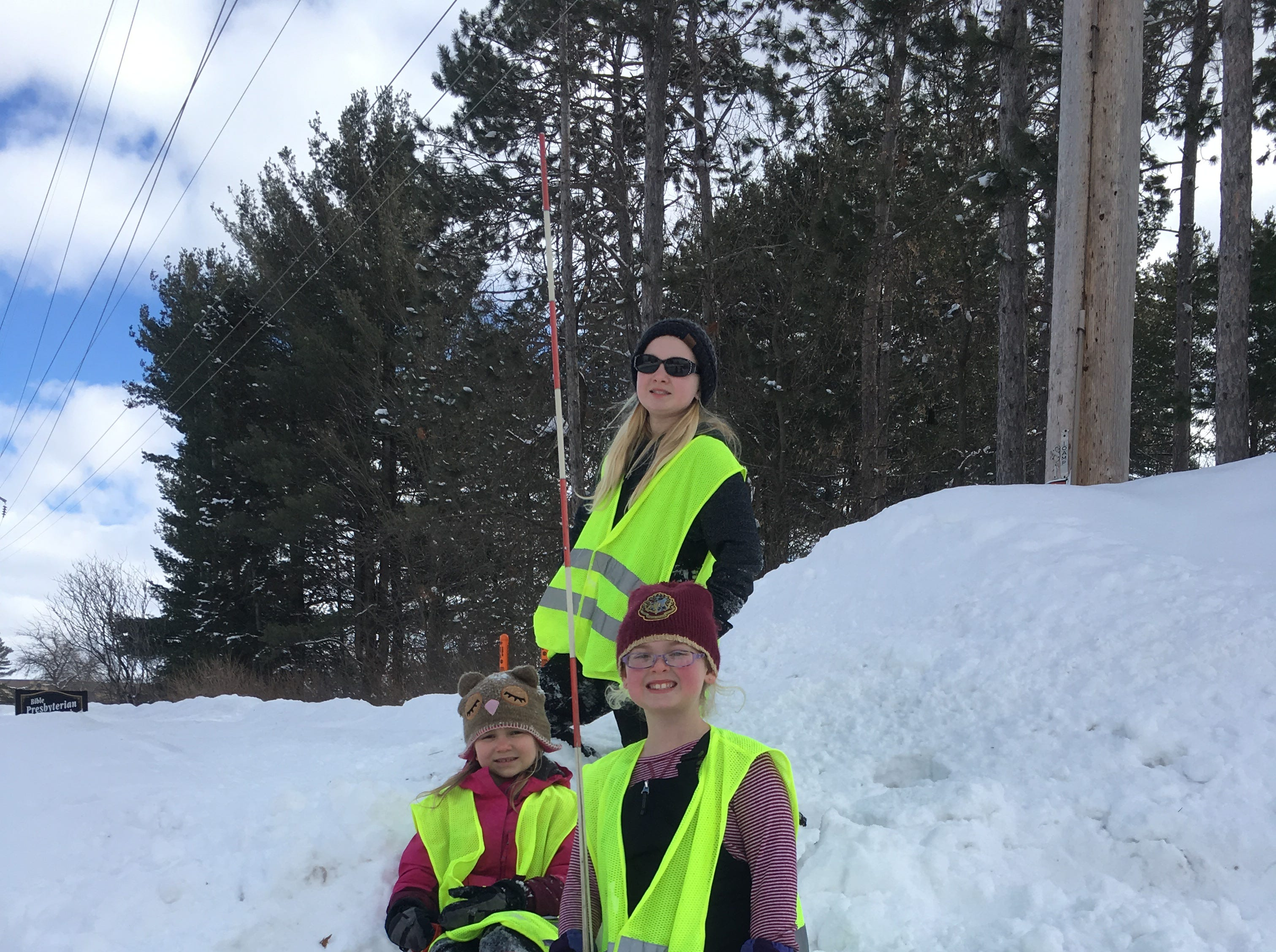 "A trio of ""hydrant heroes"" shows the fruits of their labor over the March 3-4 weekend: an accessible fire hydrant in Merrill. The Fire Department asked for volunteers, worried that buried hydrants created a safety risk throughout the city."