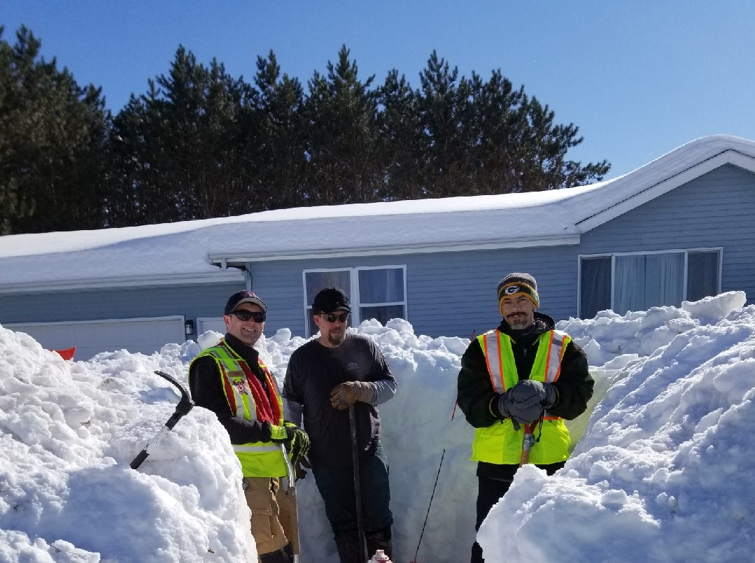"Volunteer ""hydrant heroes"" fanned out across Merrill on March 3-4 to shovel out buried fire hydrants that posed a safety risk. ""It was great to see, but not surprising,"" Merrill Fire Battalion Chief Steve Hintze said in a news release."