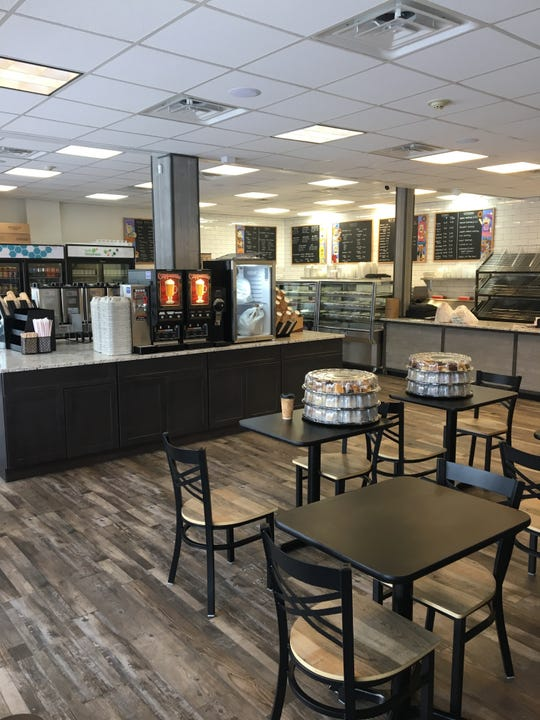 The new Brewster Hot Bagels, which will open at 2505 Carmel Avenue in Brewster in mid-March.