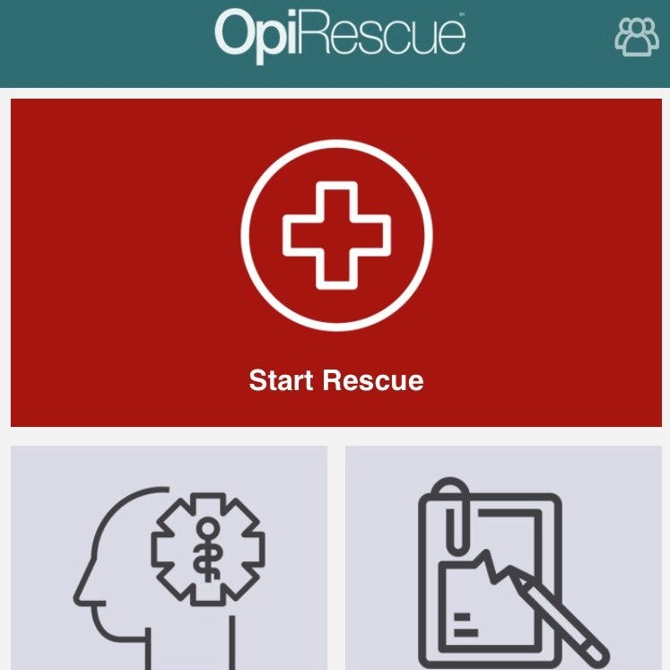 Has someone overdosed in front of you? This app tells you how to save their life