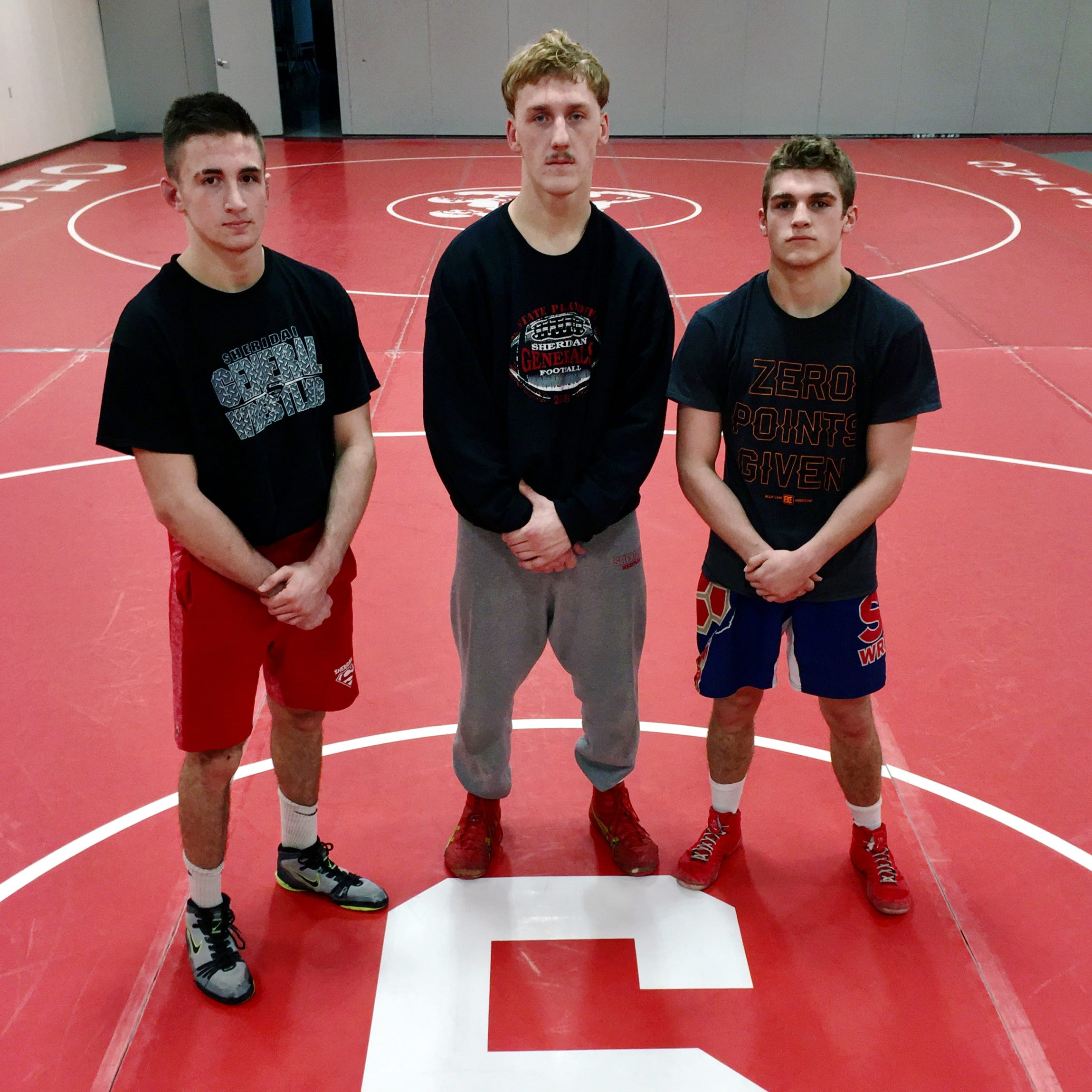 Family ties: Sheridan wrestlers following lineage to state