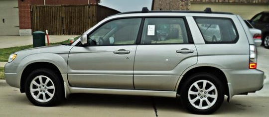Little could be driving a 2006 Subaru Forester similar to the one shown.