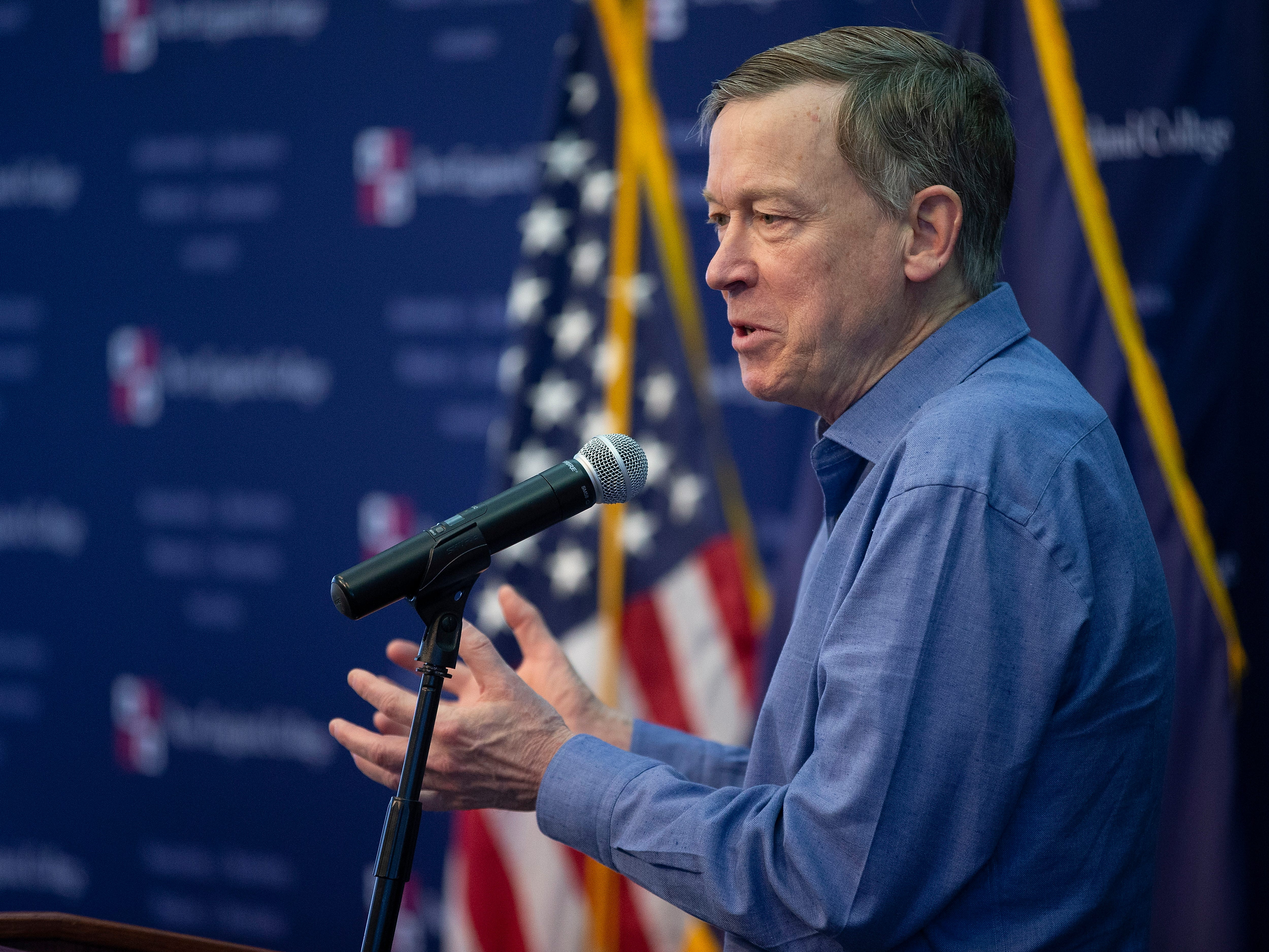 Former Colorado Gov. John Hickenlooper announced he is running for president on March 4, 2019.