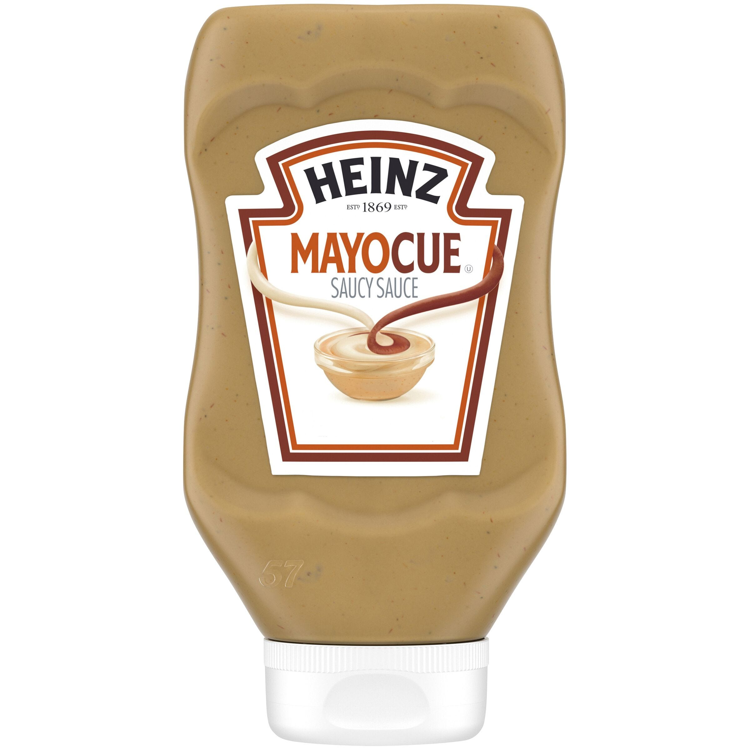 Barbecue sauce and mayo? Mayo and mustard? Heinz has created two new condiment mashups