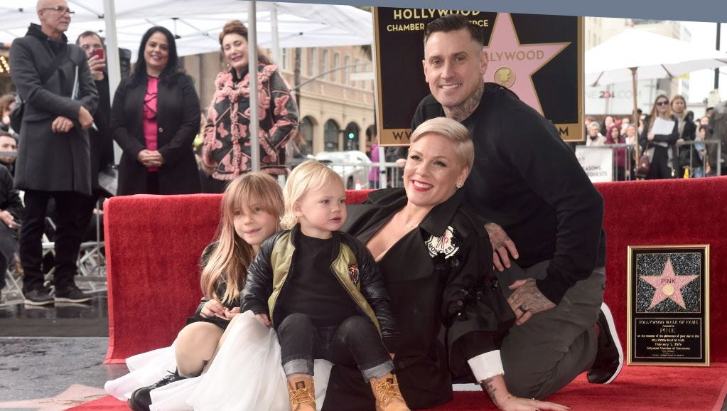 Pink's hubby Carey Hart jokes about 'parent fail 287' as daughter pops balloons with knife