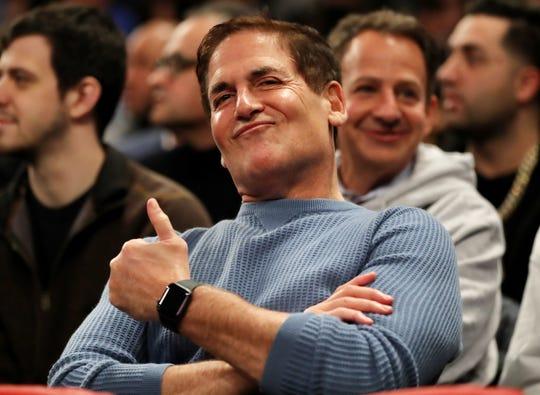 Mark Cuban bought a majority stake in the Dallas Mavericks in 2000.