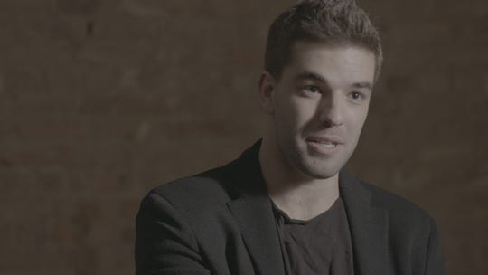 "Billy McFarland interviewed for ""Fyre Fraud."""