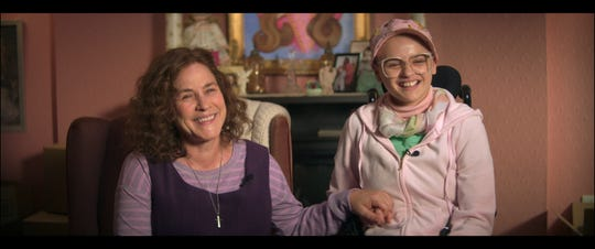 "Dee Dee Blanchard (Patricia Arquette) and Gypsy Rose Blanchard (Joey King) in ""The Act."""