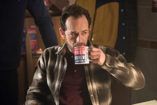 "Luke Perry, who plays Fred Andrews on CW's ""Riverdale,"" died Monday, just days after suffering a stroke."
