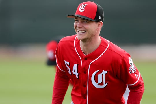 Cincinnati Reds pitcher Sonny Gray was acquired in a trade from the New York Yankees.