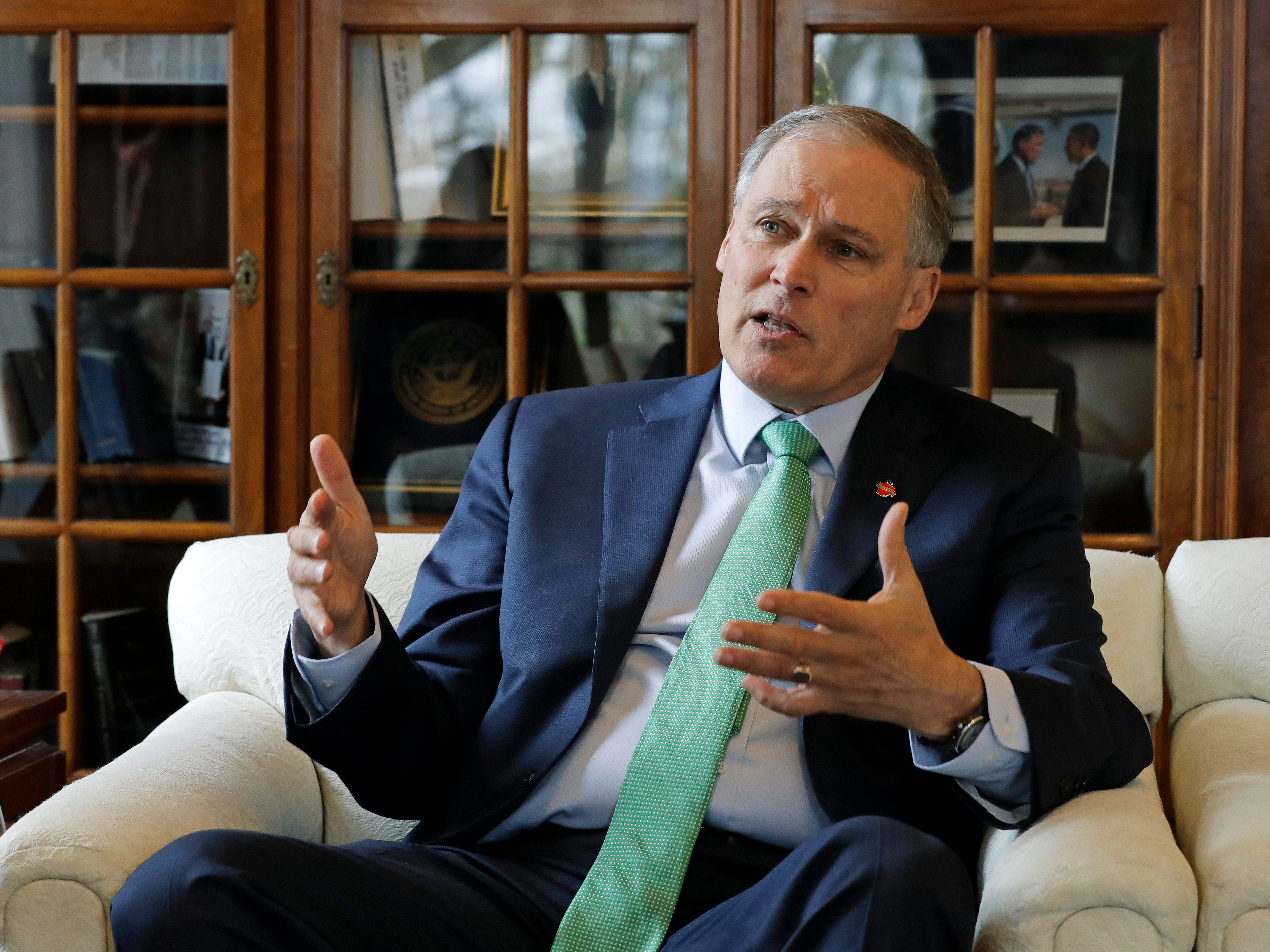 Washington Gov. Jay Inslee announced he is running for president on March 1, 2019.