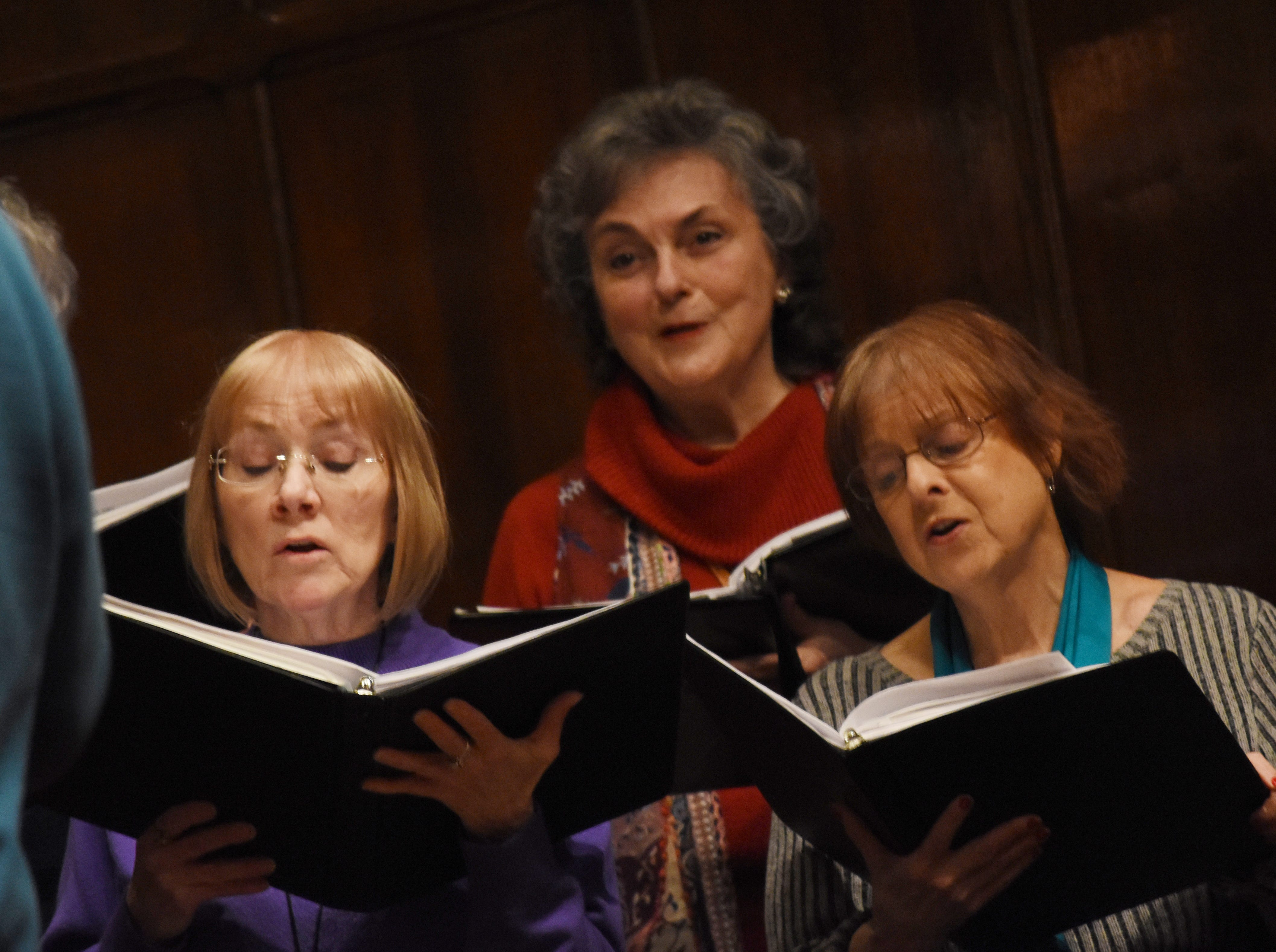 """The Red River Chorale, under the direction of Dr. Burt Allen, will present a concert, """"Inspired by Liturgy,"""" at 7:30 Tuesday, March 12, 2019 at Emmanuel Baptist Church. The concert is based on the Liturgical works of composers like Mozart, Shubert and Vivaldi. Tickets are $15 for adults and $5 for students and can be purchased from a chorale member, Red River Music store or online at Red River Choraleor TicketCentral."""