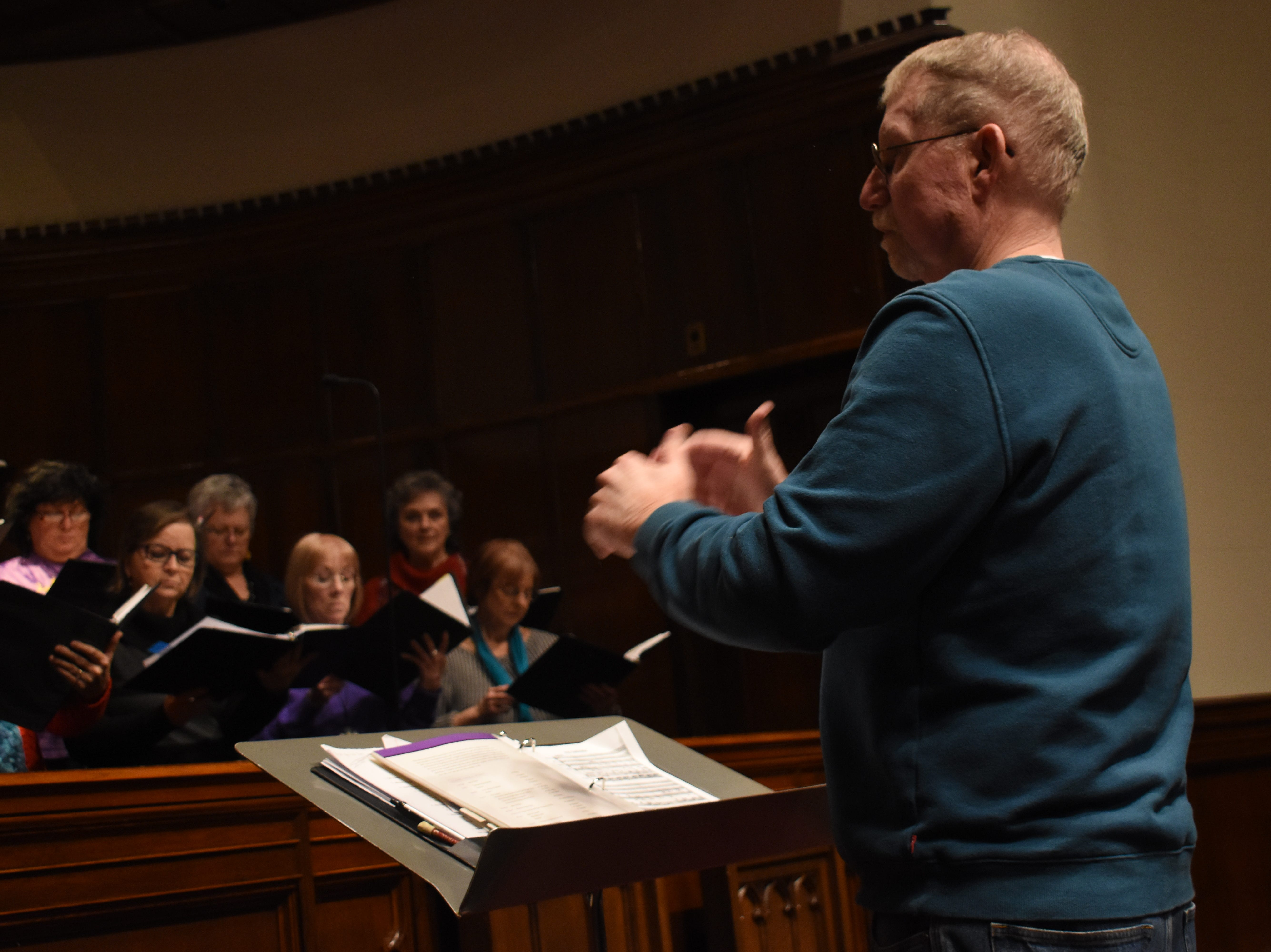"""The Red River Chorale, under the direction of Dr. Burt Allen, will present a concert, """"Inspired by Liturgy,"""" at 7:30 Tuesday, March 12, 2019 at Emmanuel Baptist Church. The concert is based on the Liturgical works of composers like Mozart, Shubert and Vivaldi. Tickets are $15 for adults and $5 for students and can be purchased from a chorale member, Red River Music store or online at Red River ChoraleÊor TicketCentral."""