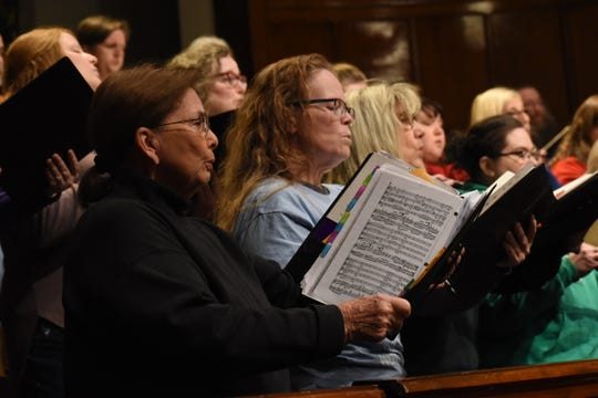 "The Red River Chorale, under the direction of Dr. Burt Allen, will present a concert, ""Inspired by Liturgy,"" at 7:30 Tuesday, March 12, 2019 at Emmanuel Baptist Church. The concert is based on the Liturgical works of composers like Mozart, Shubert and Vivaldi. Tickets are $15 for adults and $5 for students and can be purchased from a chorale member, Red River Music store or online at Red River ChoraleÊor TicketCentral."