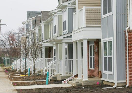 Seaview Village public housing in Long Branch.