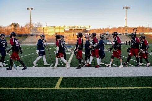 Roberson defeated Asheville 10-6 March 5, 2019.