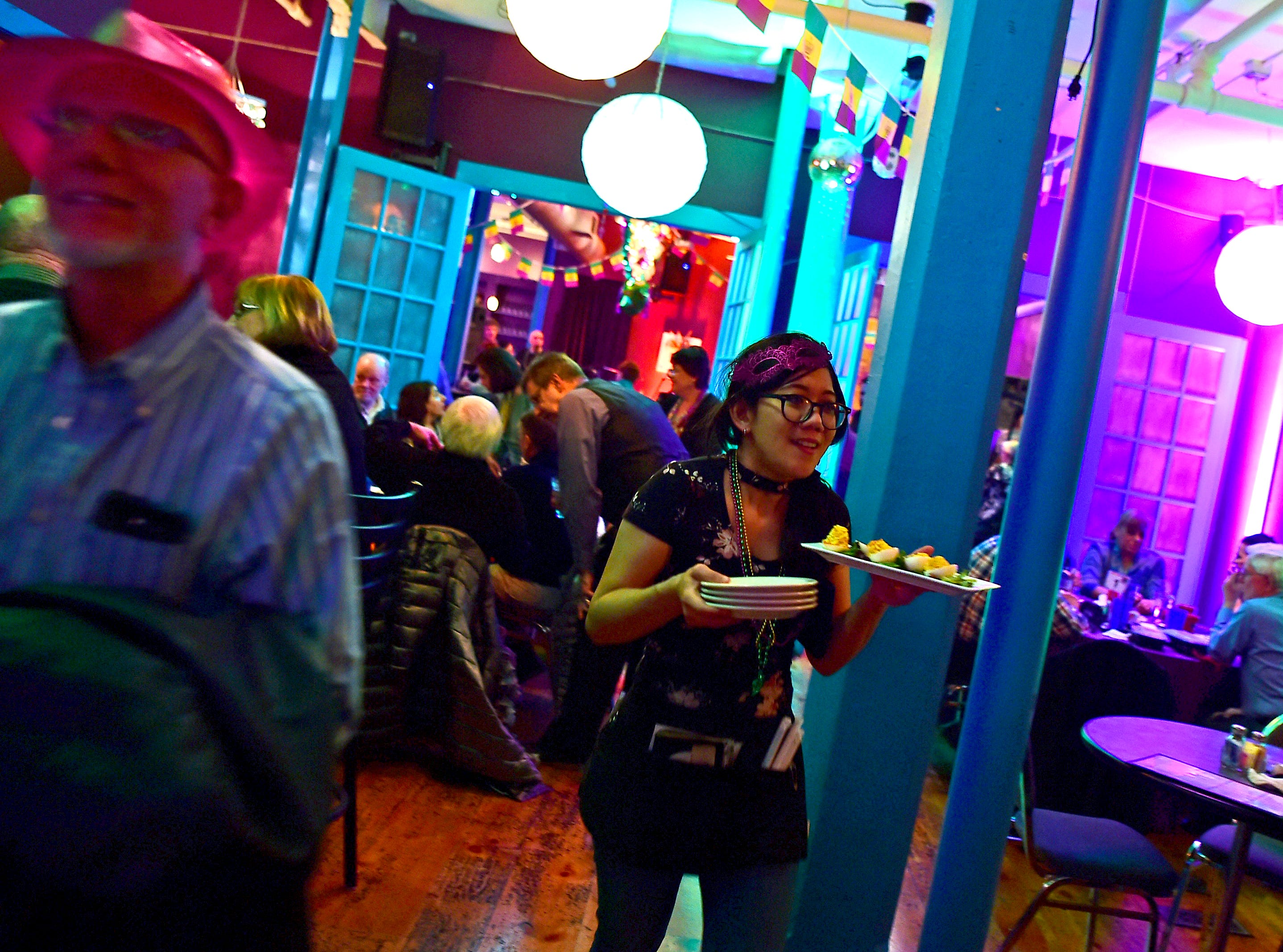 The Southern Tier celebrated Fat Tuesday at The Lost Dog Cafe & Lounge on Tuesday, as the Binghamton restaurant hosted its 25th annual Rockin' Mardi Gras Celebration. March 5, 2019.