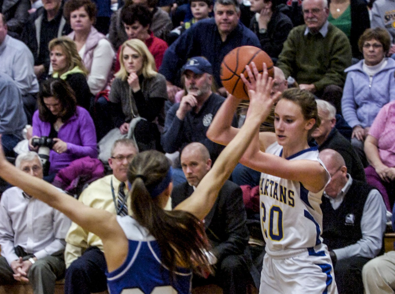 2014: Martine Bosch and Maine-Endwell, pull off a win over No. 1-ranked Walkill in the first round of the state tournament on Tuesday, play in the quarterfinals today.