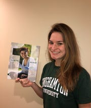 Sarah Sedlock, a 17-year-old Liverpool High School senior, will be studying accounting at Binghamton University's School of Management in the Fall.