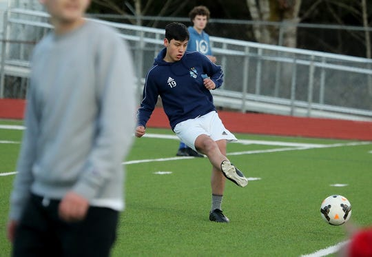 South Kitsap senior Eduardo DeLa Cruz is a three-year starter for the Wolves. He'll play attacking midfielder this spring.
