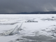 """Uplifted ice forms """"rubble"""" on Lake Champlain west of Colchester on Wednesday, March 6, 2019."""