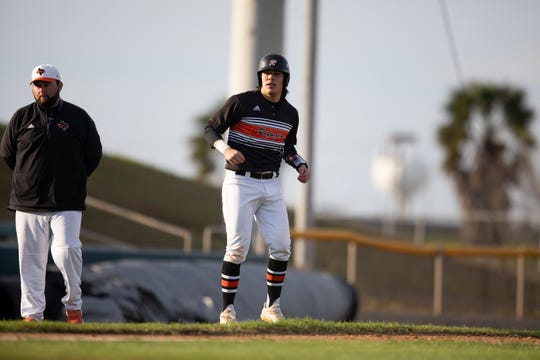 Refugio plays Agua Dulce at the Fairgrounds Field, in Robstown on Tuesday, March 5, 2019.