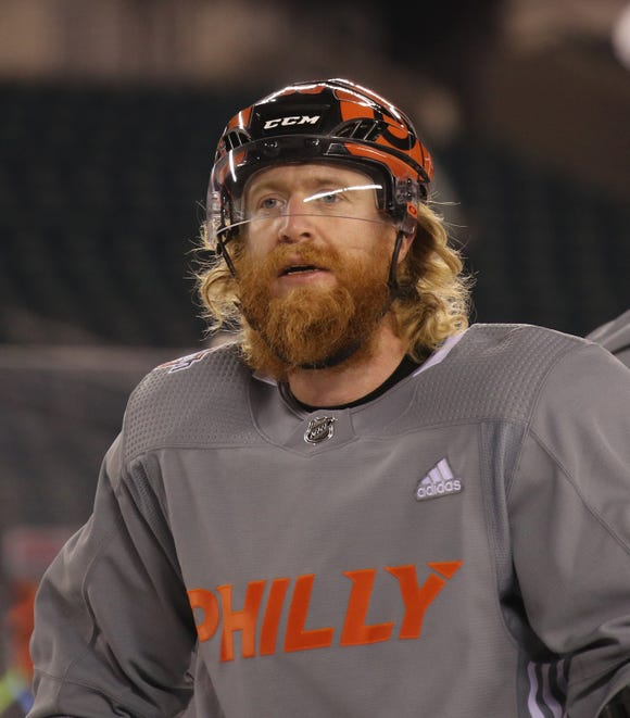 Jake Voracek, a native of the Czech Republic and former captain of the national team, would be a big part of the marketing plan if the Flyers open next season in Prague, Czech Republic.