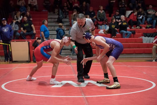 Zane Trace senior Jordan Hoselton wrestled strong during the 2018-2019 wrestling season to earn his third career trip to state this year.