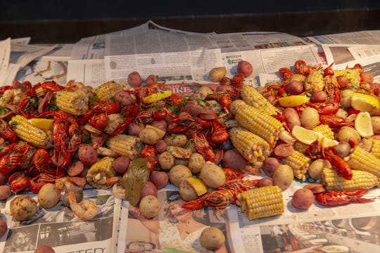 Seafood boils and crawfish boils are on the menu at events and restaurants for Mardi Gras 2020 celebrations in Indianapolis.