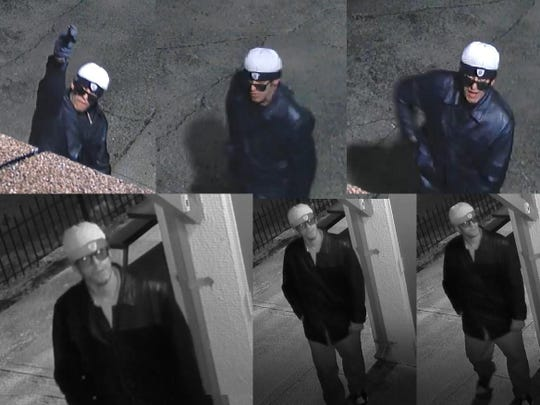 Police are asking the public for information about this man suspected of breaking windows at Dayton mosque.