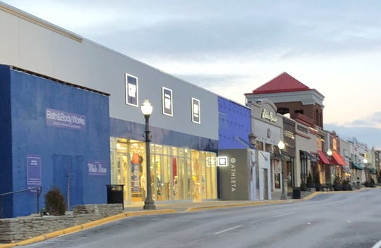 Construction is underway on new Athleta and Bath & Body Works stores at Rookwood Commons & Pavilion