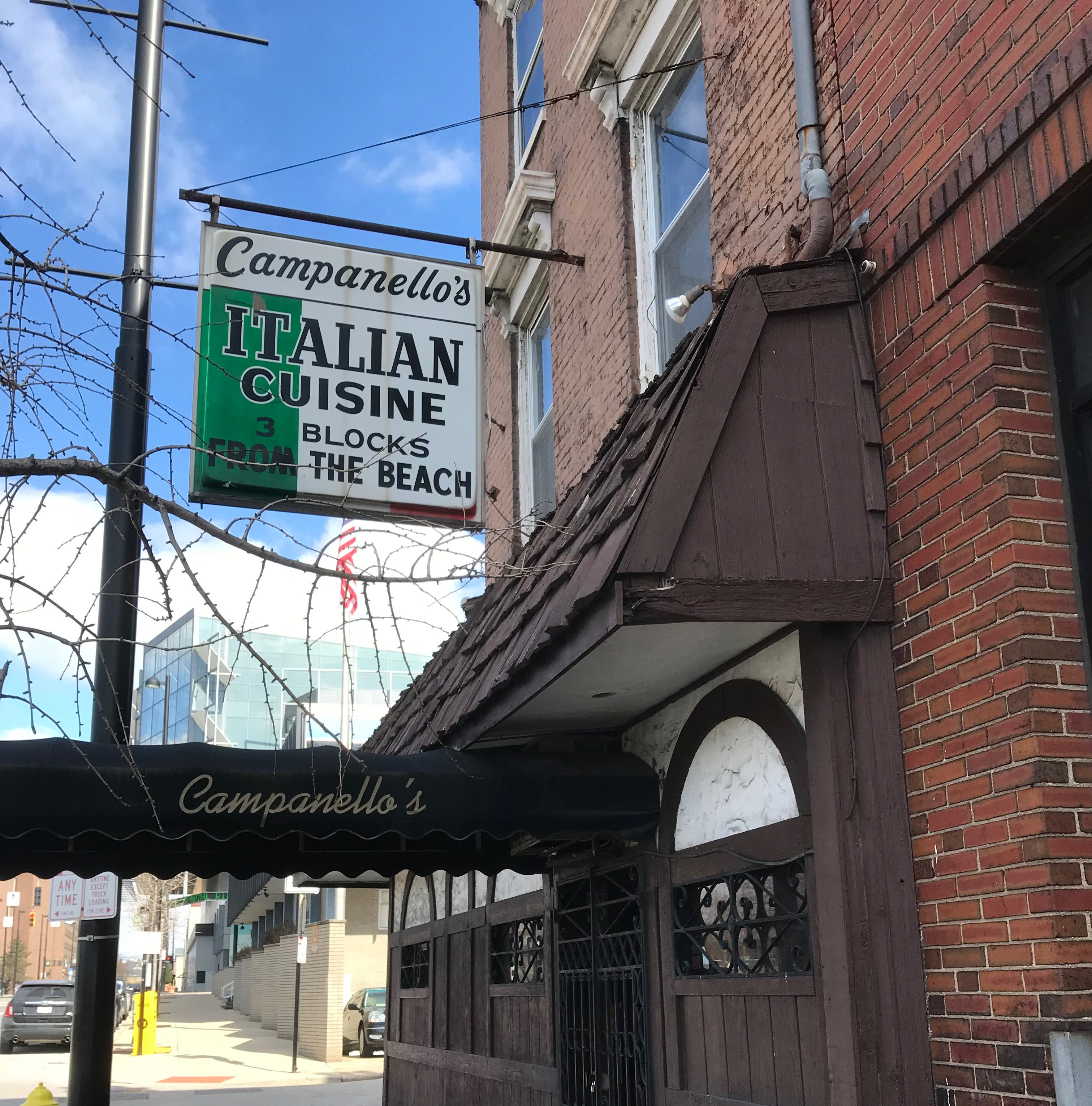 Campanello's Italian Restaurant has quietly closed Downtown