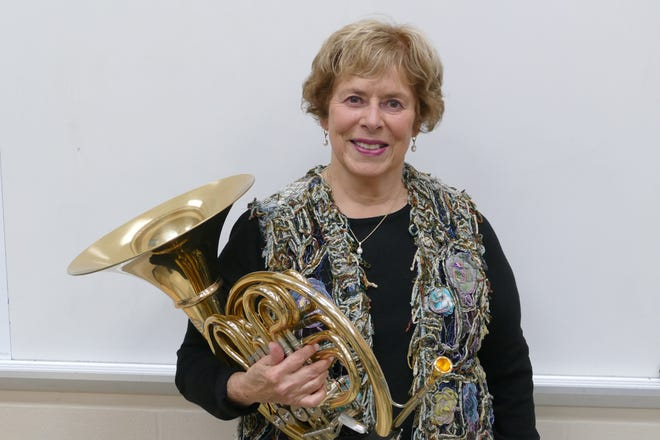 Donna Knappenberger, French Horn, will be performing with the ACB on March 17 at 7 p.m.