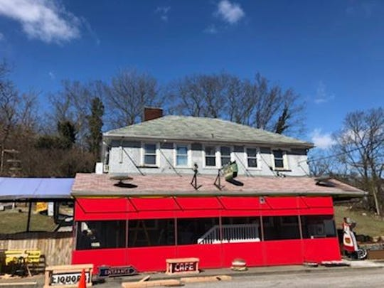 The iconic signs that bristled from the former Terry's Turf Club have been removed.