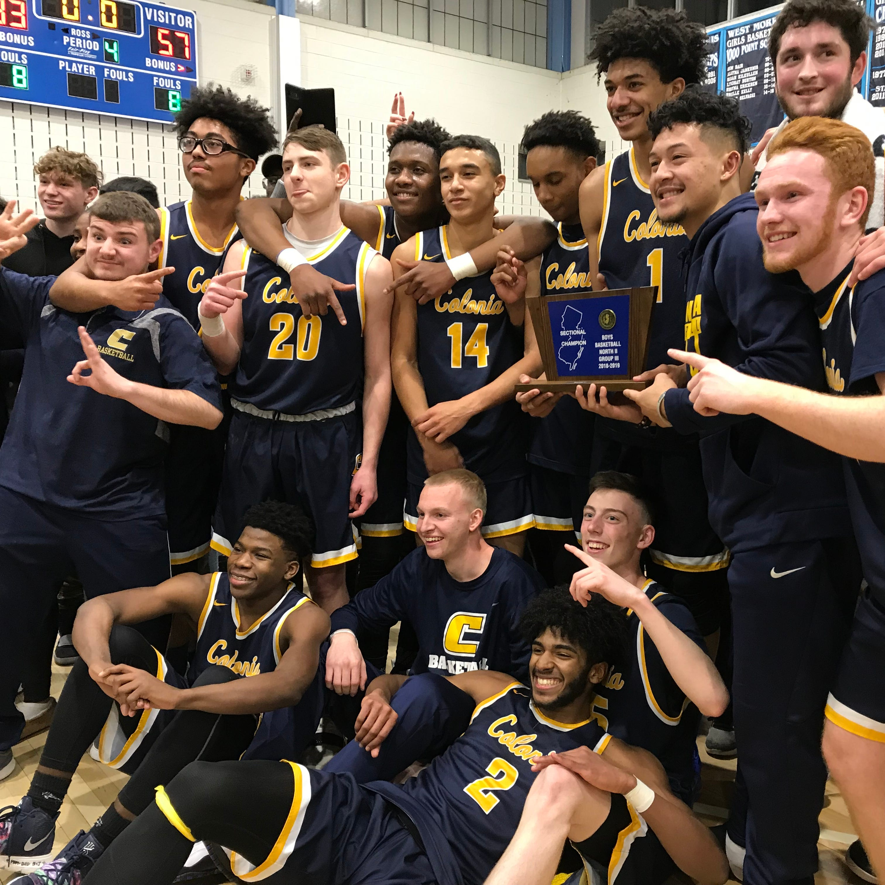 Boys Basketball: Colonia wins North 2 Group III title
