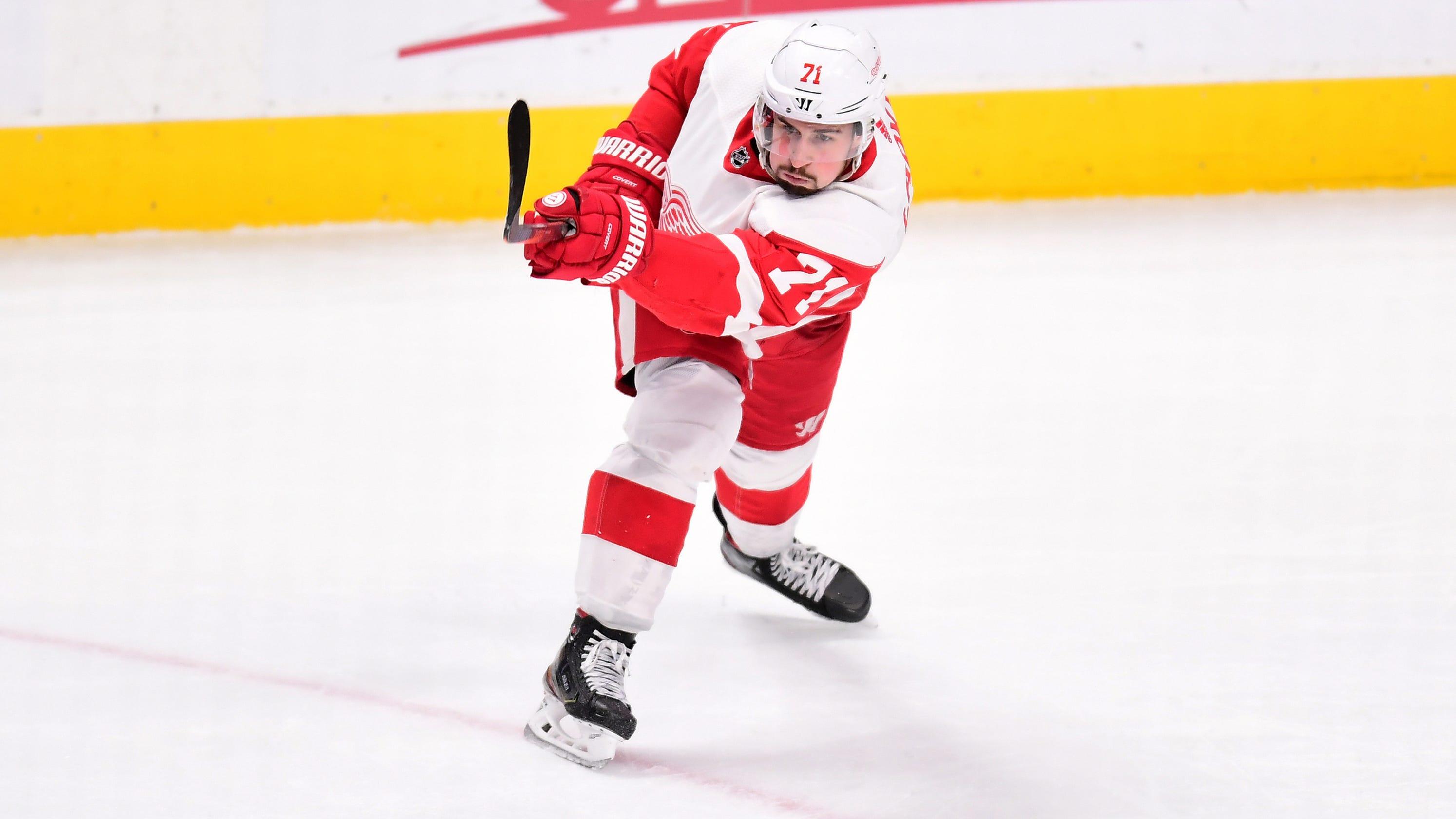 bd04ef9c51a Detroit Red Wings won t shut down Dylan Larkin this season