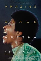 "2019 movie poster for Aretha Franklin's ""Amazing Grace"" concert film"