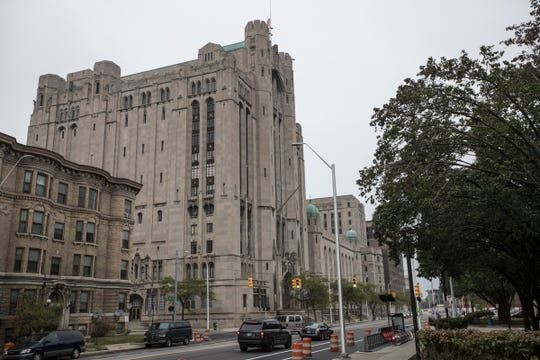 Masonic Temple in Detroit, Friday, October 6, 2017.