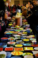 Empty Bowls benefits Cass Community Services, a Detroit nonprofit.
