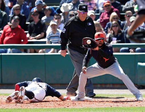 Braves Back In Semis Third Time: Detroit Tigers Lose To Philadelphia Phillies In Spring, 3-1